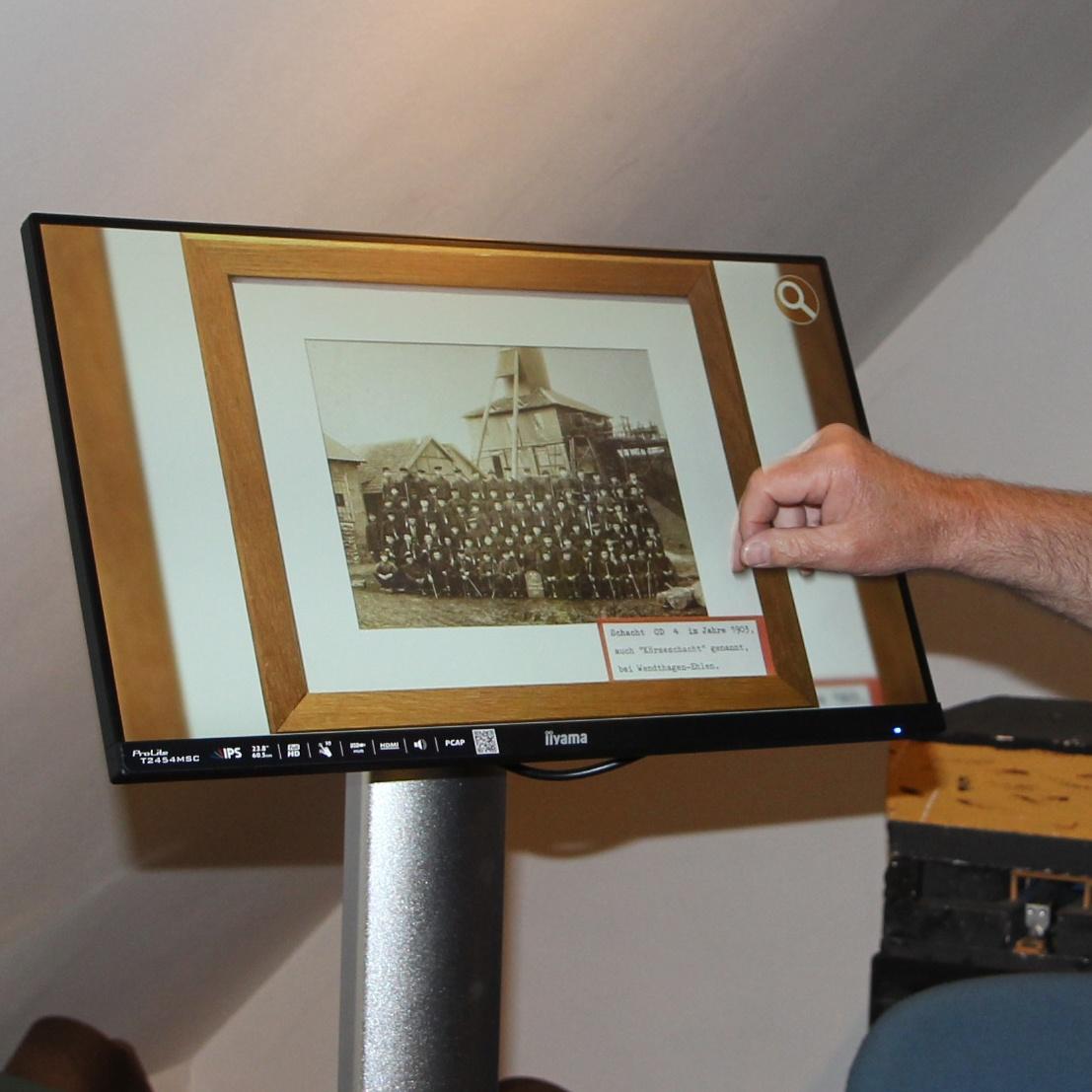 Entdecken Sie spannende Themen an unseren Museums Terminals