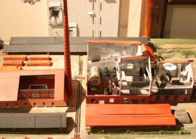 Modell der Dampfziegelei Ottensen