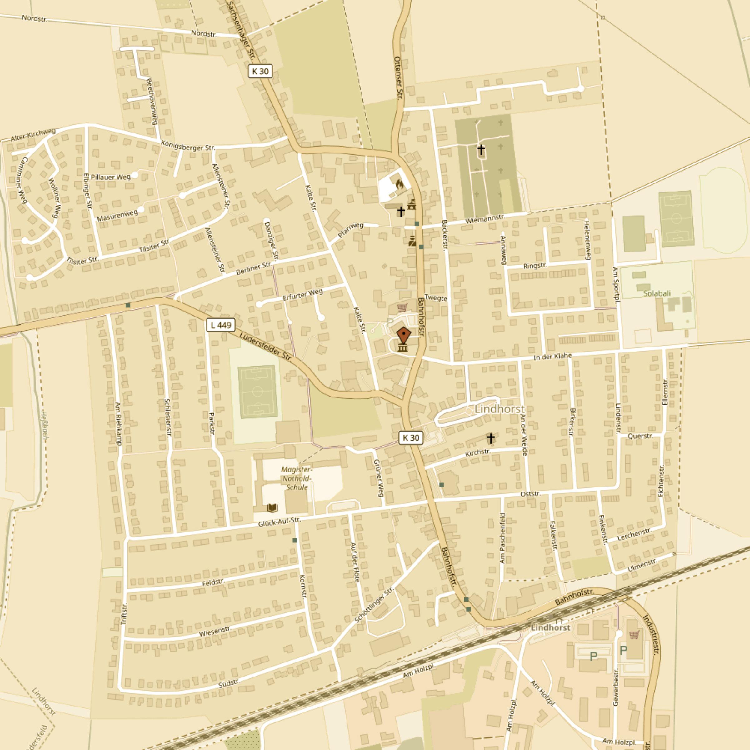Lage von Hof Guemmer-OpenStreetmap